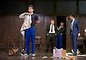 Mojo by Jez Butterworth, directed by Ian Rickson. With Ben Whishaw as Baby, Rupert Grint as Sweets, Colin Morgan as Skinny,  Brendan Coyle as Mickey. Opens at The Harold Pinter Theatre  on 13/11/13  pic Geraint Lewis