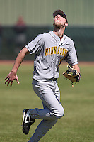 February 28, 2010:  Second Baseman Matt Puhl of the Minnesota Golden Gophers during the Big East/Big 10 Challenge at Raymond Naimoli Complex in St. Petersburg, FL.  Photo By Mike Janes/Four Seam Images