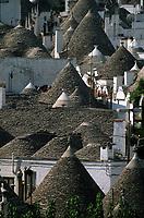 Europe/Italie/La Pouille/Alberobello: Vue sur la zone de Trulli
