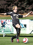 Wake's Lindsey Jaco on Wednesday, November 2nd, 2005 at SAS Stadium in Cary, North Carolina. The University of Virginia Cavaliers defeated the Wake Forest Demon Deacons 2-1 during their Atlantic Coast Conference Tournament Quarterfinal game.