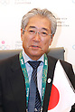 JOCTsunekazu Takeda, <br /> AUGUST 5, 2016 - : <br /> Japan Olympic Association hold press conference at the Japan House in Rio de Janeiro, Brazil. Jordan NOC became partnership for Japan Olympic Association. <br /> (Photo by Sho Tamura/AFLO SPORT)