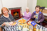 Nancy Powell, Joan Carter and Eileen Flaherty at the  coffee morning  held in the Keel Community Centre  in aid of Kerry Hospice on Thursday