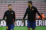 League Santander 2017/2018 - Game: 7.<br /> FC Barcelona vs UD Las Palmas: 3-0.<br /> Lionel Messi &amp; Luis Suarez.