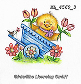 EASTER, OSTERN, PASCUA, paintings+++++,KL4569/3,#e#, EVERYDAY ,chicks,chicken