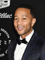 SANTA MONICA, CA - JANUARY 06: Singer/songwriter/actor John Legend arrives at the The Art Of Elysium's 11th Annual Celebration - Heaven at Barker Hangar on January 6, 2018 in Santa Monica, California.<br /> CAP/ROT/TM<br /> &copy;TM/ROT/Capital Pictures
