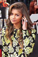 LOS ANGELES, CA, USA - APRIL 13: Zendaya (Zendaya Coleman) arrives at the 2014 MTV Movie Awards held at Nokia Theatre L.A. Live on April 13, 2014 in Los Angeles, California, United States. (Photo by Xavier Collin/Celebrity Monitor)