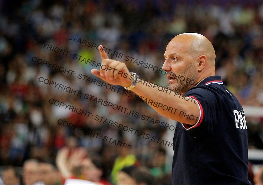 Aleksandar Djordjevic Kosarka Srbija - Francuska prijateljska 25.6.1016. JUN 25. 2016. (credit image & photo: Pedja Milosavljevic / STARSPORT)