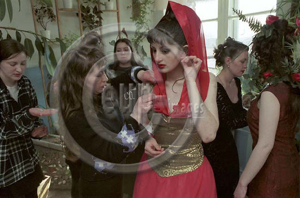 THE MISS SPRING 2003 BEAUTY CONTEST IN A SIBERIAN WOMEN PENITENTIARY COLONY No 91/9 IN NOVOSIBIRSK, RUSSIA. --- Please contanct eup & Images for this feature..
