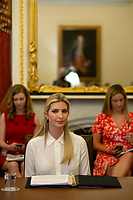 First Daughter and Advisor to the President Ivanka Trump attends a Women, Peace, and Security Roundtable with the U.S. Foreign Relations Committee at the U.S. Capitol in Washington D.C., U.S., on June 11, 2019.<br /> CAP/MPI/RS<br /> ©RS/MPI/Capital Pictures