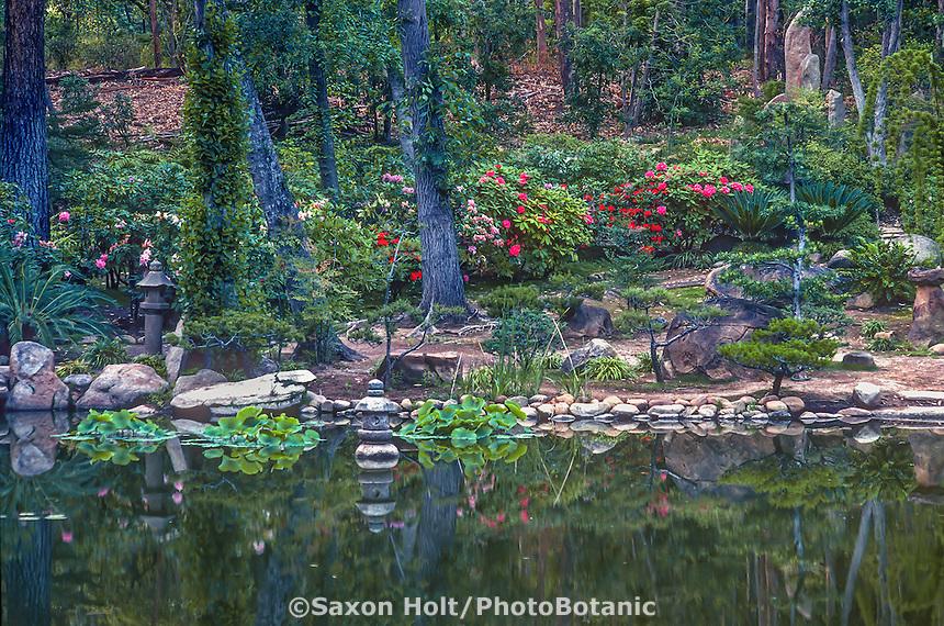 Lotusland - pond and Japanese garden 1988