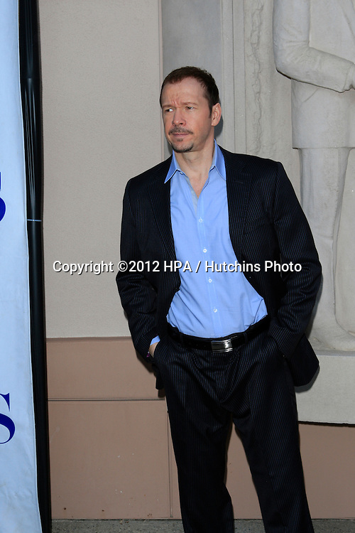 NORTH HOLLYWOOD - JUN 5: Donnie Wahlberg at a screening and panel discussion of CBS's 'Blue Bloods' at Leonard H. Goldenson Theater on June 5, 2012 in North Hollywood, California