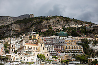 Positano, Italy is seen on Sunday, Sept. 20, 2015. (Photo by James Brosher)