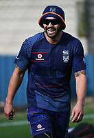 Shaun Johnson.<br /> Vodafone Warriors training session. Mt Smart Stadium, Auckland, New Zealand. NRL Rugby League. Wednesday 23 May 2018 &copy; Copyright photo: Andrew Cornaga / www.photosport.nz