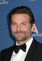 LOS ANGELES, CA - FEBRUARY 2: Bradley Cooper at the 71st Annual DGA Awards at the Hollywood &amp; Highland Center's Ray Dolby Ballroom  in Los Angeles, California on February 2, 2019. <br /> CAP/MPIFS<br /> &copy;MPIFS/Capital Pictures