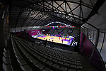 General view, <br /> AUGUST 15, 2018 - Basketball : Women's Qualification round match between Hong Kong 44-121 Japan at Gelora Bung Karno Basket Hall A during the 2018 Jakarta Palembang Asian Games in Jakarta, Indonesia.<br /> (Photo by MATSUO.K/AFLO SPORT)
