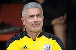 St Johnstone v Alashkert FC...09.07.15   UEFA Europa League Qualifier 2nd Leg<br /> Head coach Abrahim Kashmanyan<br /> Picture by Graeme Hart.<br /> Copyright Perthshire Picture Agency<br /> Tel: 01738 623350  Mobile: 07990 594431