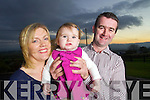 Kieran and Anne Savage with their Daughter Alice who will be one on the 11/11/11