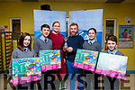 Tarbert National School winners of the ISTA Primary Schools Annual Science Quiz in the IT Tralee&rsquo;s South campus on Thursday night last.  <br /> L-r, Sarah Cournane, Thomas Kiely, Triona Horan (MC), Patrick O&rsquo;Hanlon (Teacher), Ciara Henderson and Jack Hutchinson.