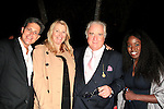 LOS ANGELES - OCT 24: James Sved, Anna Wilding, Clement von Franckenstein, guest at the Austrian National Day Celebration in the Residence of the Consul on October 24, 2013 in Los Angeles, California
