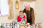 Tarbert Community are to rally in  help with funds for sick child Leah Carmody Pictured are  Grandparents Michael and Nuala Carmody with a picture of Leah