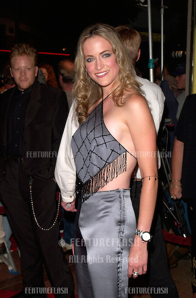 Actress LORI HEURING at the world premiere, in Westwood, of her new movie The In Crowd.
