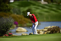 Minjee Lee (AUS) on the 18th green during the Final Round at the Kia Classic,Park Hyatt Aviara Resort, Golf Club &amp; Spa, Carlsbad, California, USA. 3/25/18.<br /> Picture: Golffile | Bruce Sherwood<br /> <br /> <br /> All photo usage must carry mandatory copyright credit (&copy; Golffile | Bruce Sherwood)