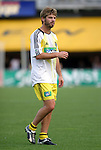 12 Jun 2004: Eric Denton before the game. The Columbus Crew and Kansas City Wizards tied 2-2 at Crew Stadium in Columbus, OH during a regular season Major League Soccer game..