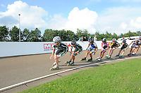 INLINE-SKATEN: HAULERWIJK: Skeelervereniging 'De Draai', 16-06-2012, Elma de Vries (#81), Bianca Roosenboom (#19), ©foto Martin de Jong