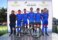 Team Sapura Cycling. The opening ceremony of the NZ Cycle Classic UCI Oceania Tour at Queen Elizabeth Park in Masterton, New Zealand on Tuesday, 14 January 2020. Photo: Dave Lintott / lintottphoto.co.nz