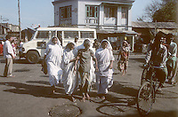 Mother Teresa's Missionaries of Charity in Calcutta, India in 1996