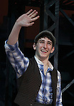 Ben Frankhauser.during the 'NEWSIES' Opening Night Curtain Call at the Nederlander Theatre in New York on 3/29/2012