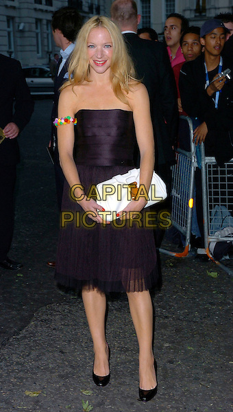NATALIE PRESS.Glamour magazine's 3rd Annual Woman of the Year Awards Berkeley Square Gardens - Arrivals, London, UK. .June 6th, 2006 .Ref: CAN.full length black strapless dress bracelet arm band white purse bag .www.capitalpictures.com.sales@capitalpictures.com.©Capital Pictures
