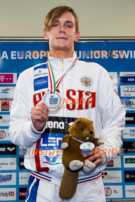 Mordashev Kirill RUS<br /> 200 Breaststroke Men Final Gold Medal<br /> LEN 43rd Arena European Junior Swimming Championships<br /> Hodmezovasarhely, Hungary <br /> Day02 07-07-2016<br /> Photo Andrea Masini/Deepbluemedia/Insidefoto