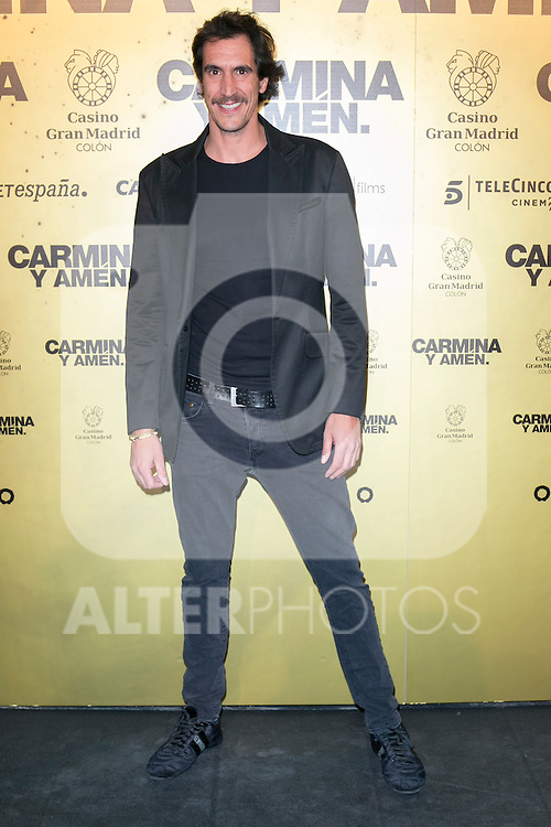 "Spanish actor Rodrigo Poison attend the Premiere of the movie ""Carmina y Amen"" at the Callao Cinema in Madrid, Spain. April 28, 2014. (ALTERPHOTOS/Carlos Dafonte)"