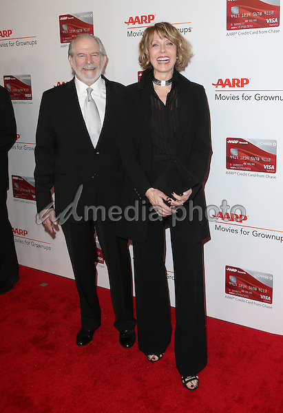 06 February 2017 - Beverly Hills, California - Steve Jaffe, Susan Blakely. AARP 16th Annual Movies For Grownups Awards held at the Beverly Wilshire Four Seasons Hotel. Photo Credit: F. Sadou/AdMedia