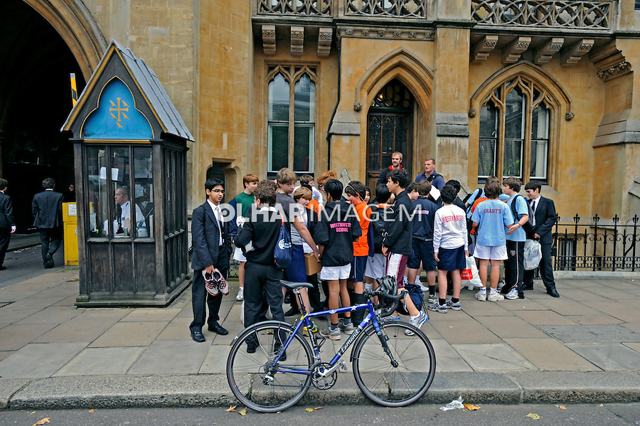 Estudantes do colégio Westminster School.  Londres. Inglaterra. 2008. Foto de Juca Martins.