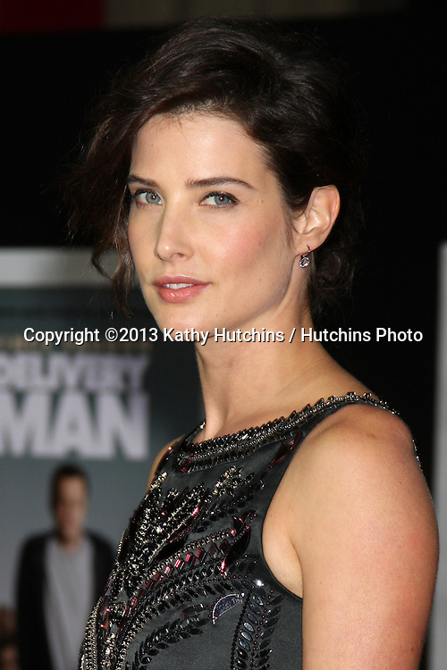 """LOS ANGELES - NOV 3:  Cobie Smulders at the """"Delivery Man"""" World Premiere at El Capitan Theater on November 3, 2013 in Los Angeles, CA"""