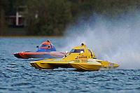 "Dan Kanfoush, Y-1 ""Fast Eddie Too"" and Sean Bowsher Y-52  (1 Litre MOD hydroplane(s)"