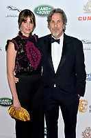 BEVERLY HILLS, CA. October 26, 2018: Peter Farrelly & Melinda Kocsis at the 2018 British Academy Britannia Awards at the Beverly Hilton Hotel.<br /> Picture: Paul Smith/Featureflash