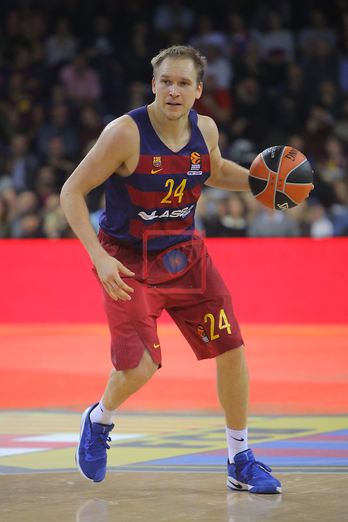 Turkish Airlines Euroleague 2016/2017.<br /> Regular Season - Round 8.<br /> FC Barcelona Lassa vs R. Madrid: 63-102.<br /> Brad Oleson.