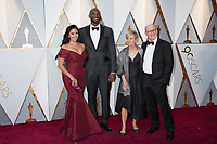 Oscar&reg; nominees Kobe Bryant and Glen Keane with Vanessa Laine Bryant and Linda Hesselroth arrive on the red carpet of The 90th Oscars&reg; at the Dolby&reg; Theatre in Hollywood, CA on Sunday, March 4, 2018.<br /> *Editorial Use Only*<br /> CAP/PLF/AMPAS<br /> Supplied by Capital Pictures