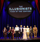 'The Illusionists' during a press preview of 'The Illusionists - Turn of the Century' at The Theater Center on November 29, 2016 in New York City.