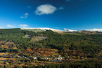 Strathyre from Beinn an t-Sidhein, Strathyre, Loch Lomond and the Trossachs National Park, Stirlingshire
