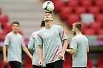 11.06.2012 WARSZAWA STADION NARODOWY.PILKA NOZNA KADRA REPREZENTACJA.MISTRZOSTWA EUROPY W PILCE NOZNEJ EURO2012 POLSKA I UKRAINA.FOOTBALL EUROPEAN CHAMPIONSHIPS UEFA EURO 2012.TRENING PREPREZENTACJI POLSKI .N/Z LUKASZ PISZCZEK.FOT LUKASZ LASKOWSKI / PRESSFOCUS NEWSPIXPL.---.Newspix.pl