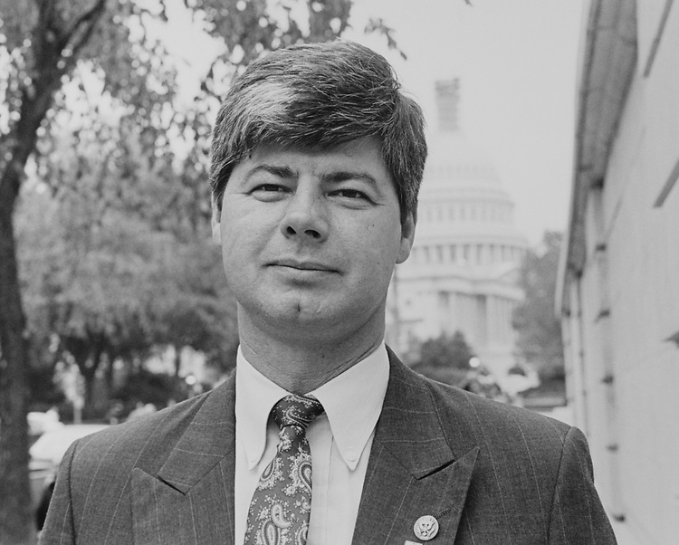Rep. Bart Stupak, D-Mich., on Oct. 25, 1993. (Photo by Chris Martin/CQ Roll Call)