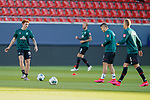 Joshua Sargent (Werder Bremen #19), Milot Rashica (Werder Bremen #07), Ludwig Augustinsson (Werder Bremen #05), Kevin Vogt (Werder Bremen  #03)<br /> <br /> <br /> Sport: nphgm001: Fussball: 1. Bundesliga: Saison 19/20: Relegation 02; 1.FC Heidenheim vs SV Werder Bremen - 06.07.2020<br /> <br /> Foto: gumzmedia/nordphoto/POOL <br /> <br /> DFL regulations prohibit any use of photographs as image sequences and/or quasi-video.<br /> EDITORIAL USE ONLY<br /> National and international News-Agencies OUT.