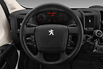 Car pictures of steering wheel view of a 2018 Peugeot Boxer Active 4 Door Combi