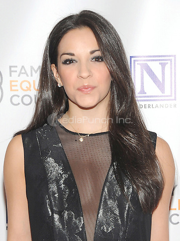 NEW YORK, NY - MAY 09: Ana Vilafane attends the 11th Annual Family Equality Council Night at the Pier at Pier 60 on May 9, 2016 in New York City.  Photo Credit: John Palmer/Media Punch