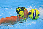 Fina World Swimming Championships Melbourne 2007. Water Polo Australia v Canada , Melissa Rippon nose where the goals are !!