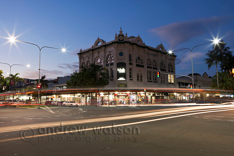The heritage listed Boland Centre in the central business district.  Cairns, Queensland, Australia